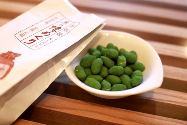 京都三丘園の抹茶ピーナッツ